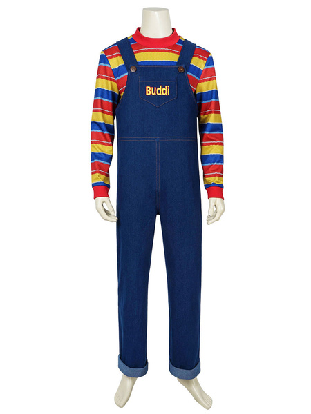 Milanoo Child\s Play Chucky Cosplay Costume