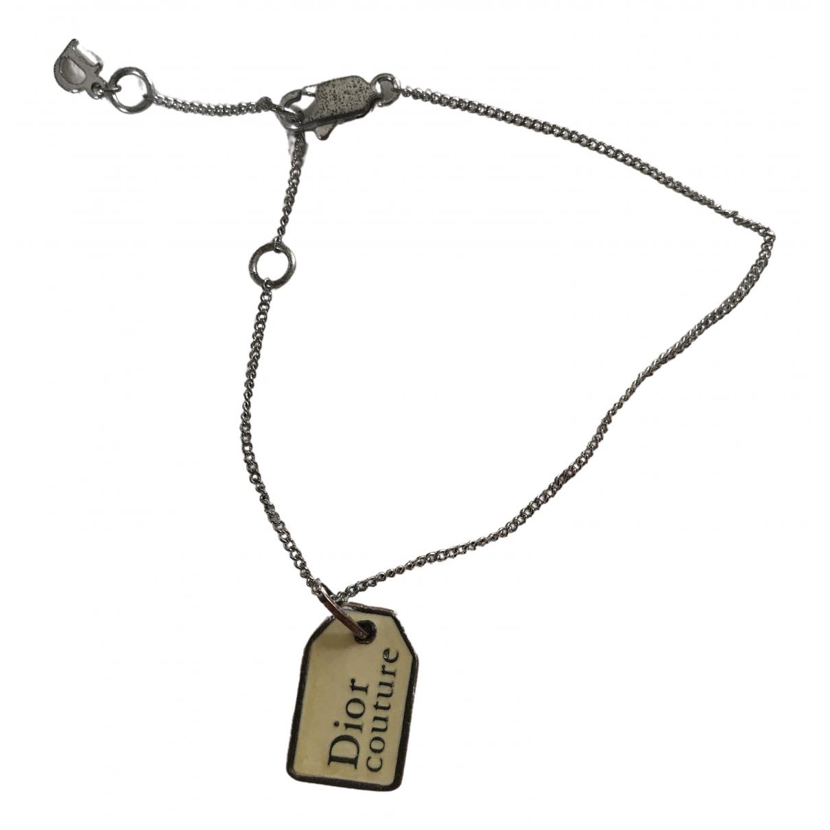 Dior N Silver Steel bracelet for Women N