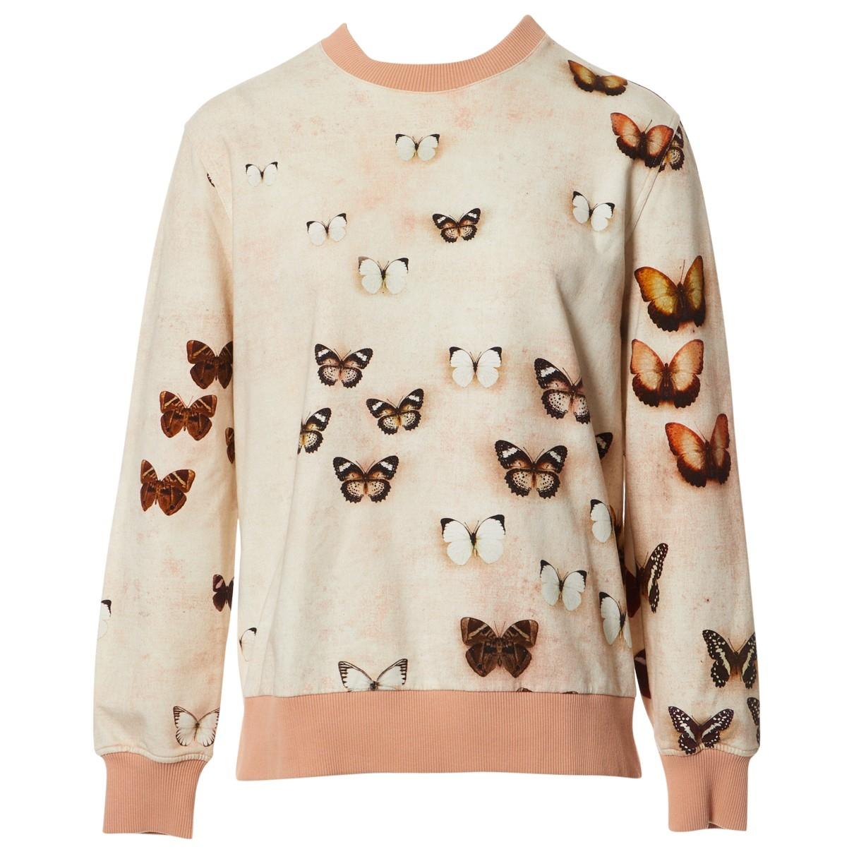 Givenchy - Pull   pour femme en coton - ecru