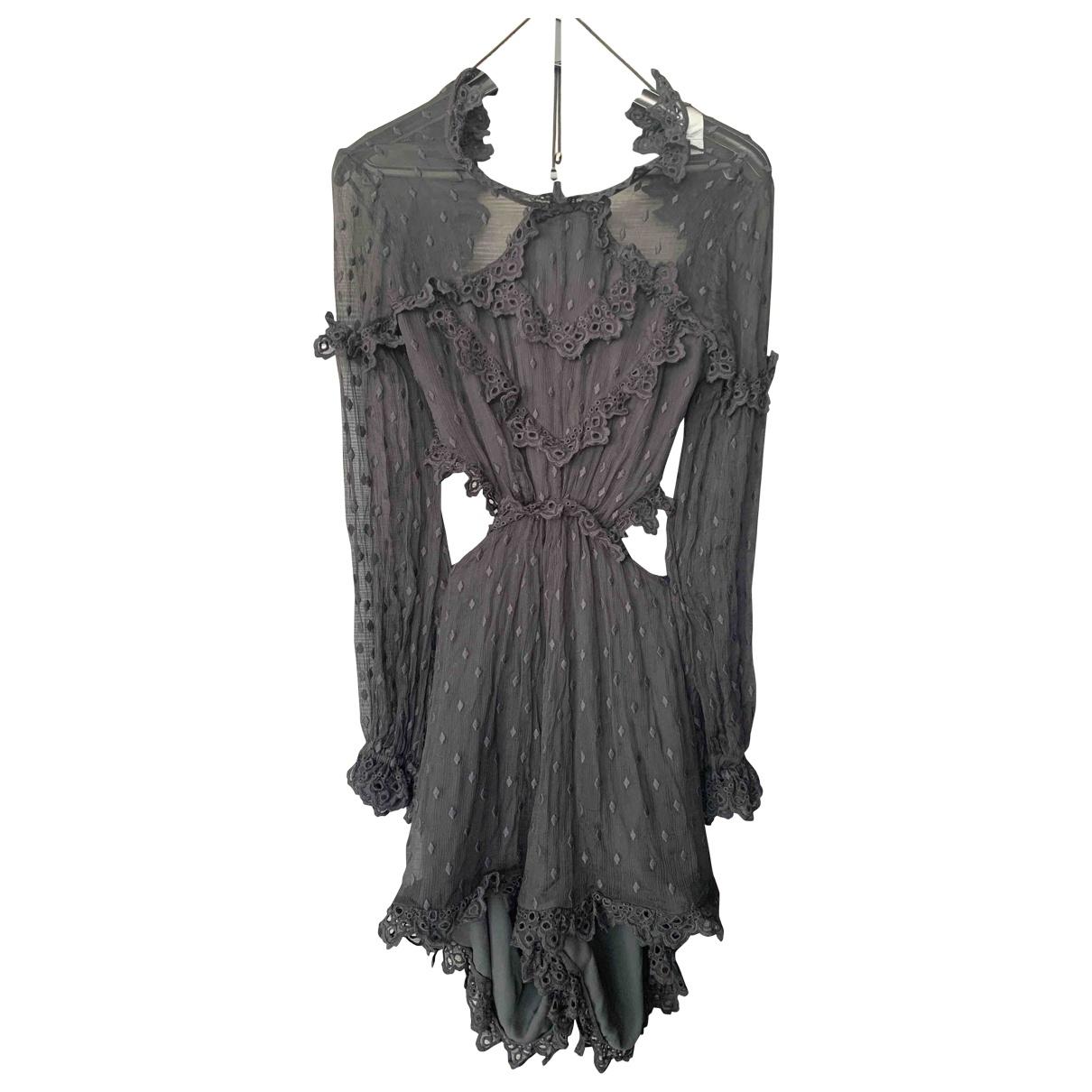 Zimmermann \N Black Cotton jumpsuit for Women 1 0-5