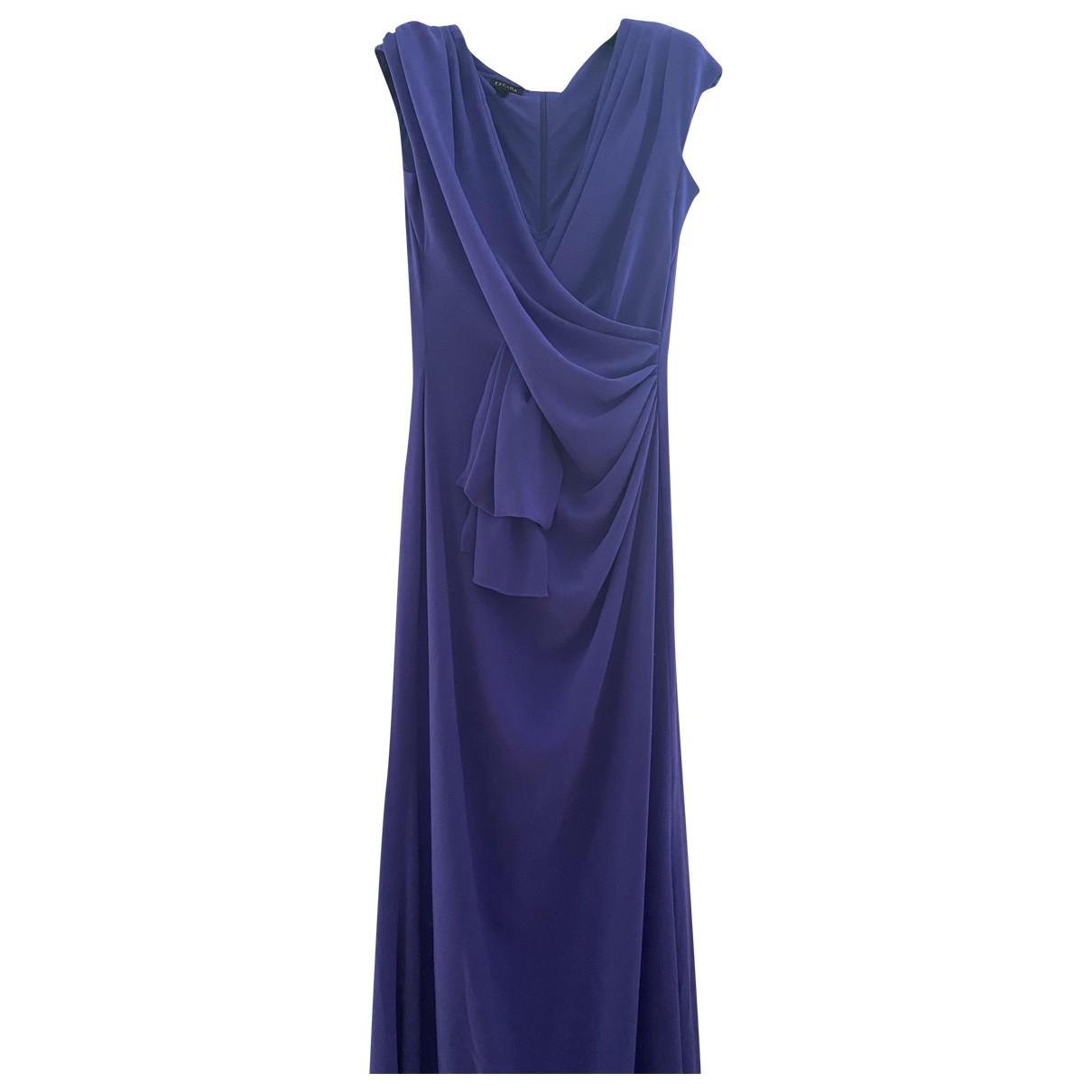Escada \N Kleid in  Lila Synthetik