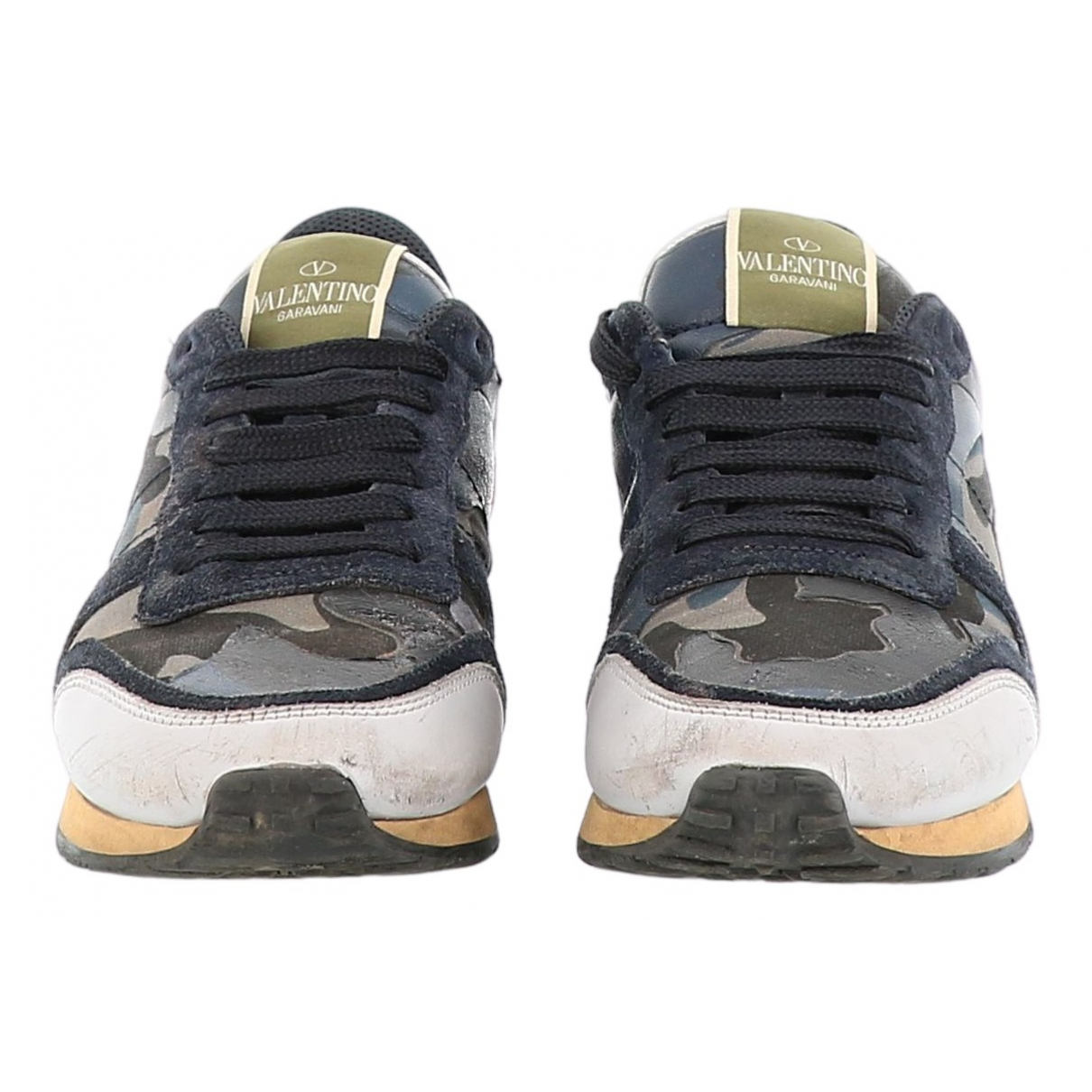 Valentino Garavani Rockrunner Sneakers in  Bunt Leder
