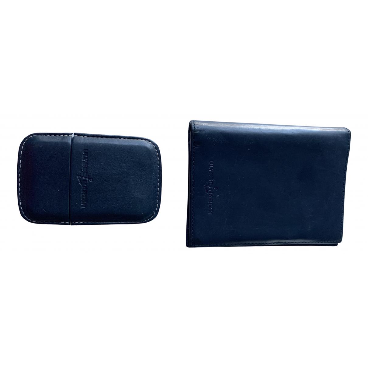 Ulysse Nardin \N Blue Leather Purses, wallet & cases for Women \N