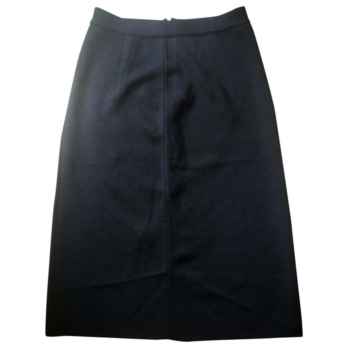 Max Mara Studio - Jupe   pour femme en laine - noir