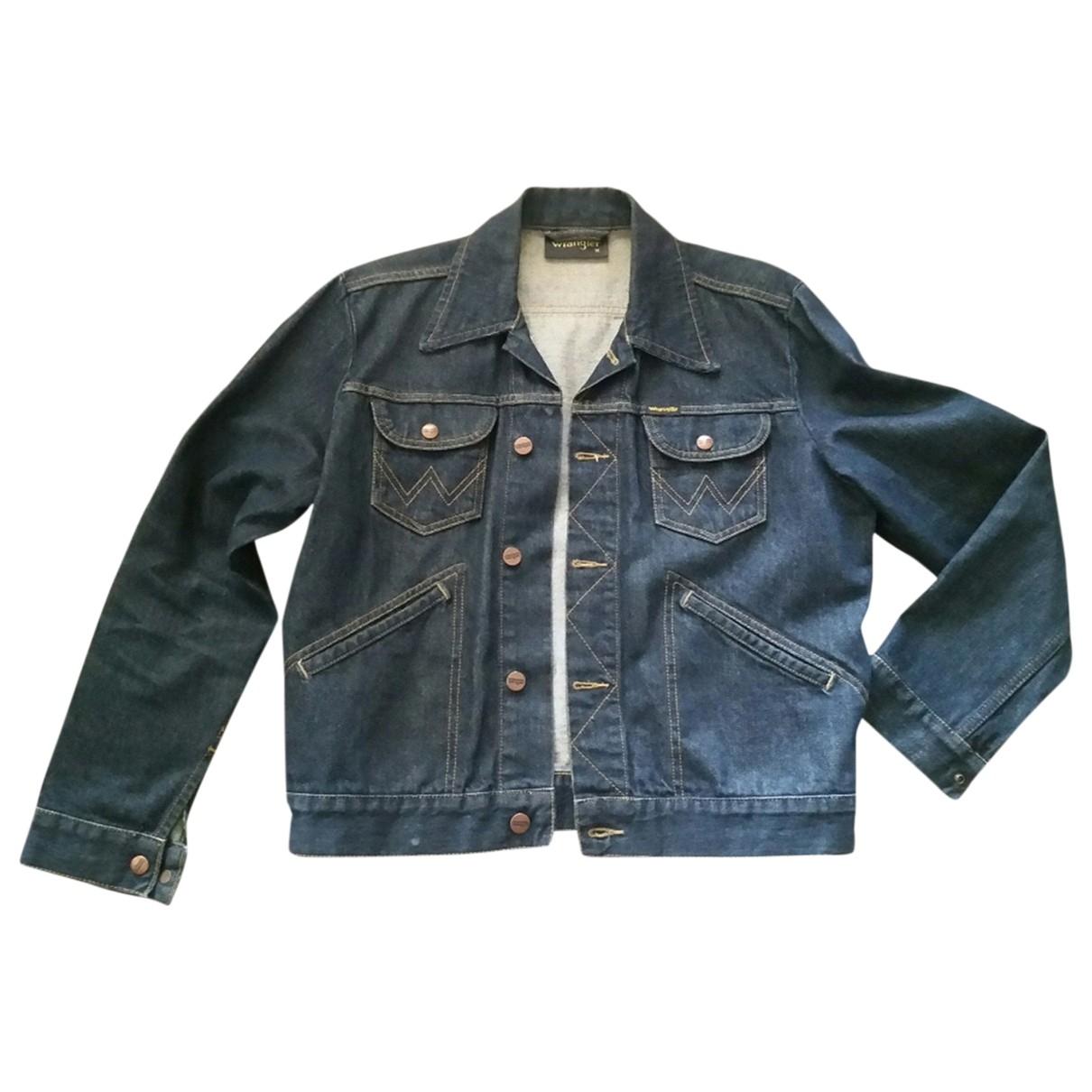 Wrangler \N Blue Denim - Jeans jacket for Women M International