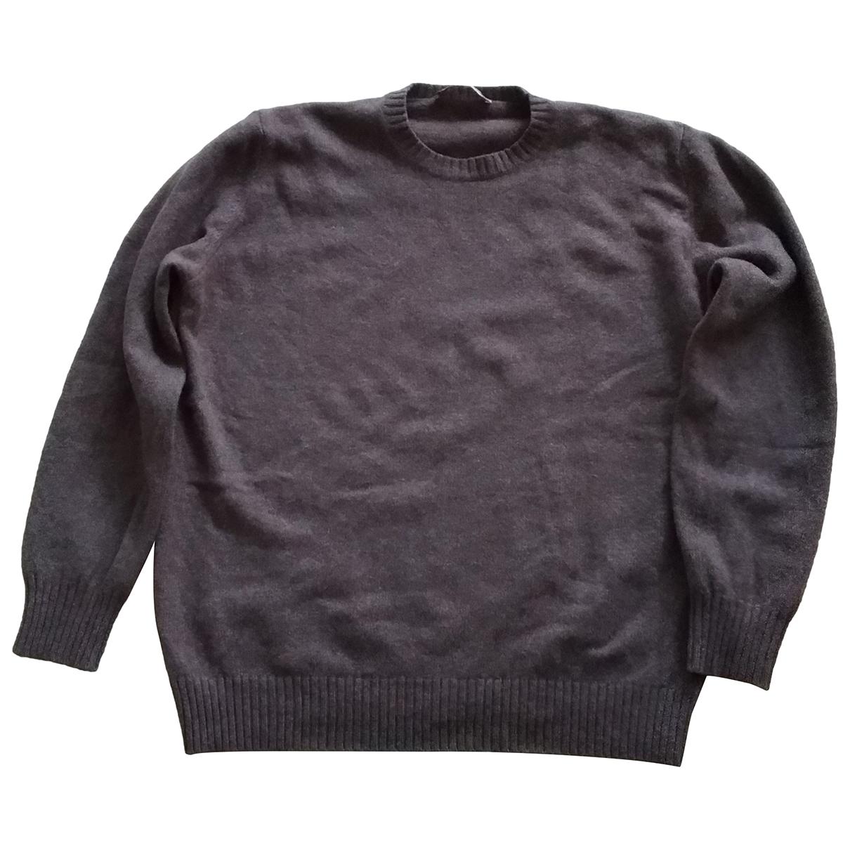 Non Signe / Unsigned \N Pullover.Westen.Sweatshirts  in  Braun Wolle