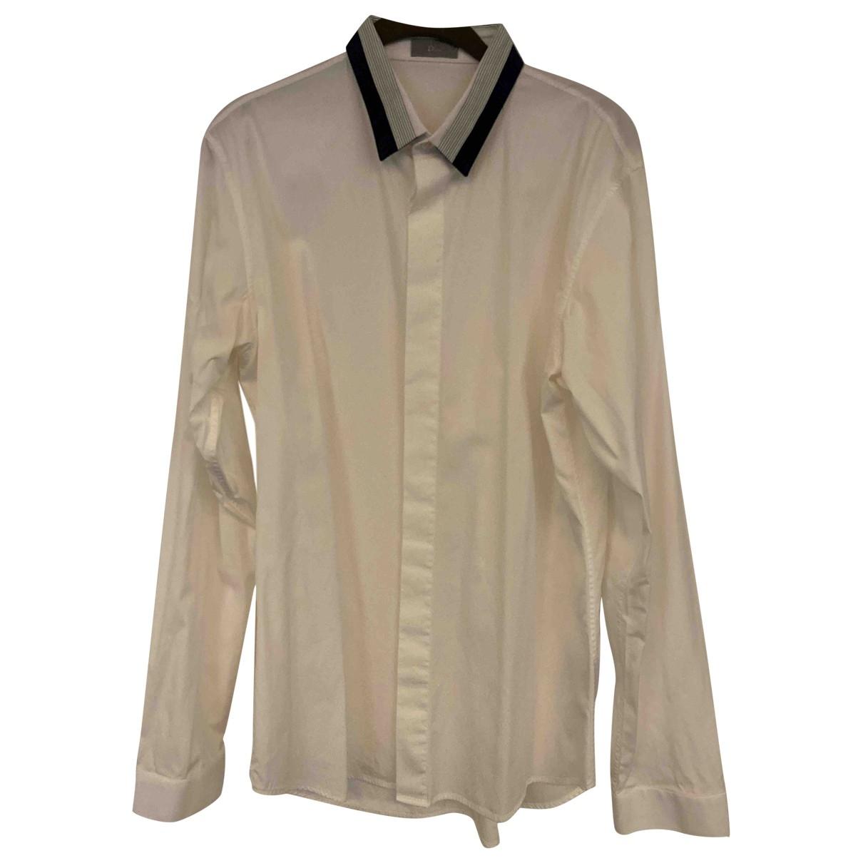 Dior \N Hemden in  Weiss Baumwolle