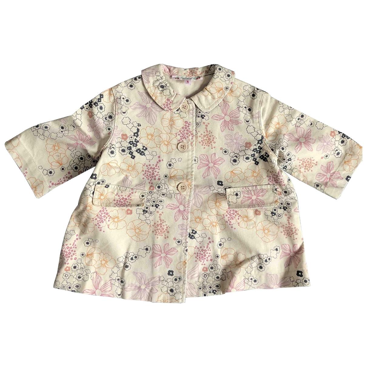 Bonpoint - Blousons.Manteaux   pour enfant en coton - multicolore