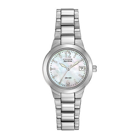 Citizen Chandler Womens Silver Tone Stainless Steel Bracelet Watch-Ew1670-59d, One Size , No Color Family