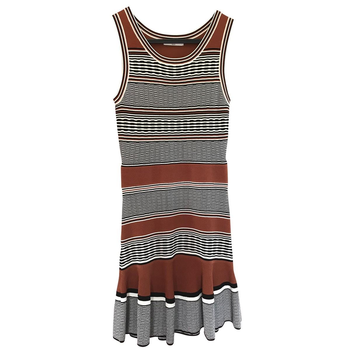 Sandro \N Camel dress for Women 38 FR