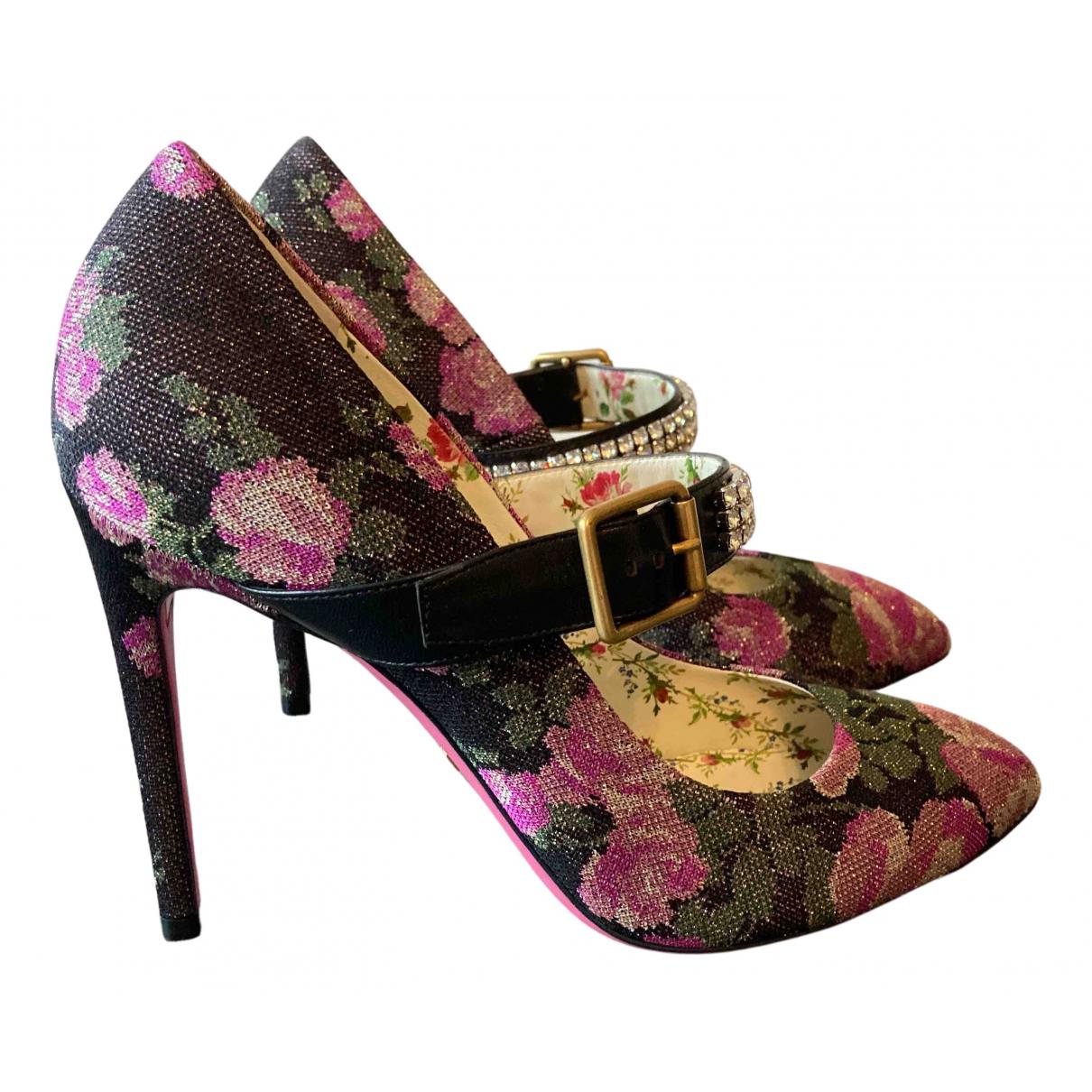 Gucci - Escarpins Sylvie pour femme en toile - multicolore