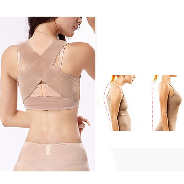 Women Support Belt Orthopedic Back Brace Posture Corrector Brace Posture Shoulder Corrector Back