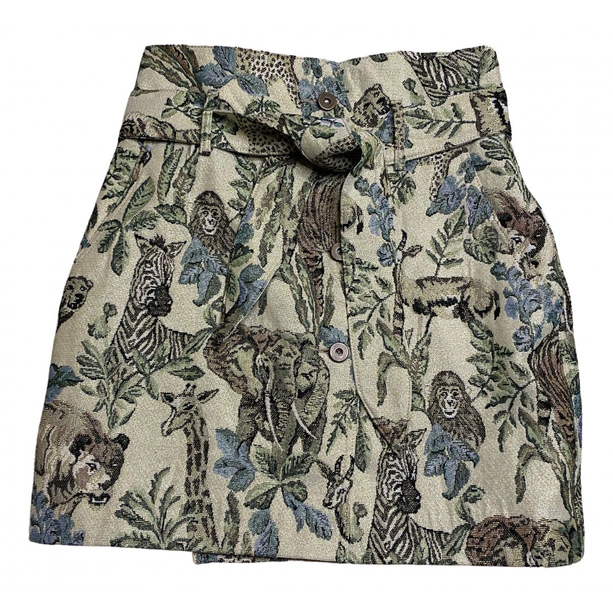 Mini falda Nanushka