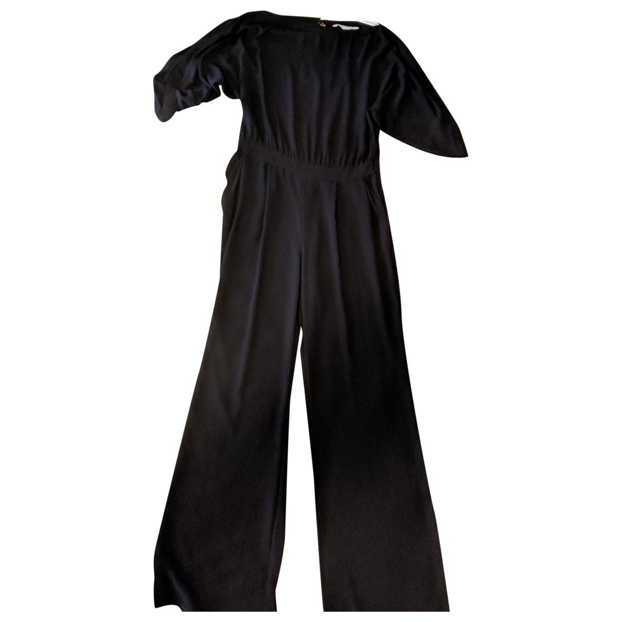 Diane Von Furstenberg \N Jumpsuit in  Schwarz Polyester