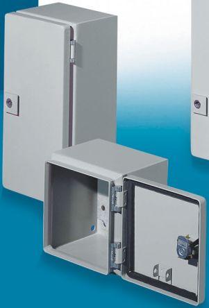 Rittal E-Box EB, Steel Wall Box, IP66, 120mm x 300 mm x 300 mm, Grey