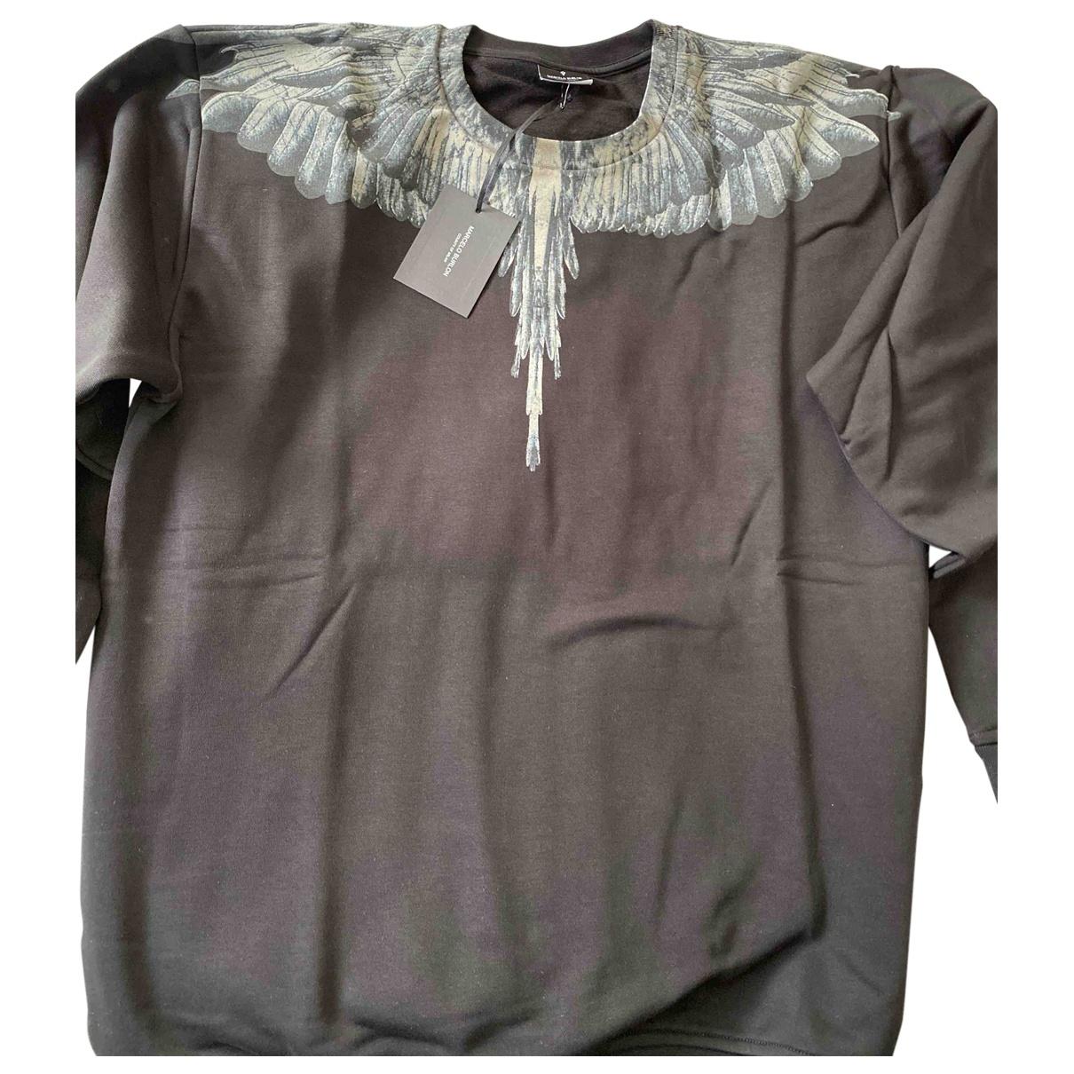 Marcelo Burlon \N Black Cotton Knitwear & Sweatshirts for Men XXL International
