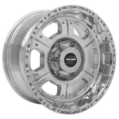Pro Comp 89 Series Kore, 16x8 Wheel with 6 on 5.5 Bolt Pattern - Polished - 1089-6883