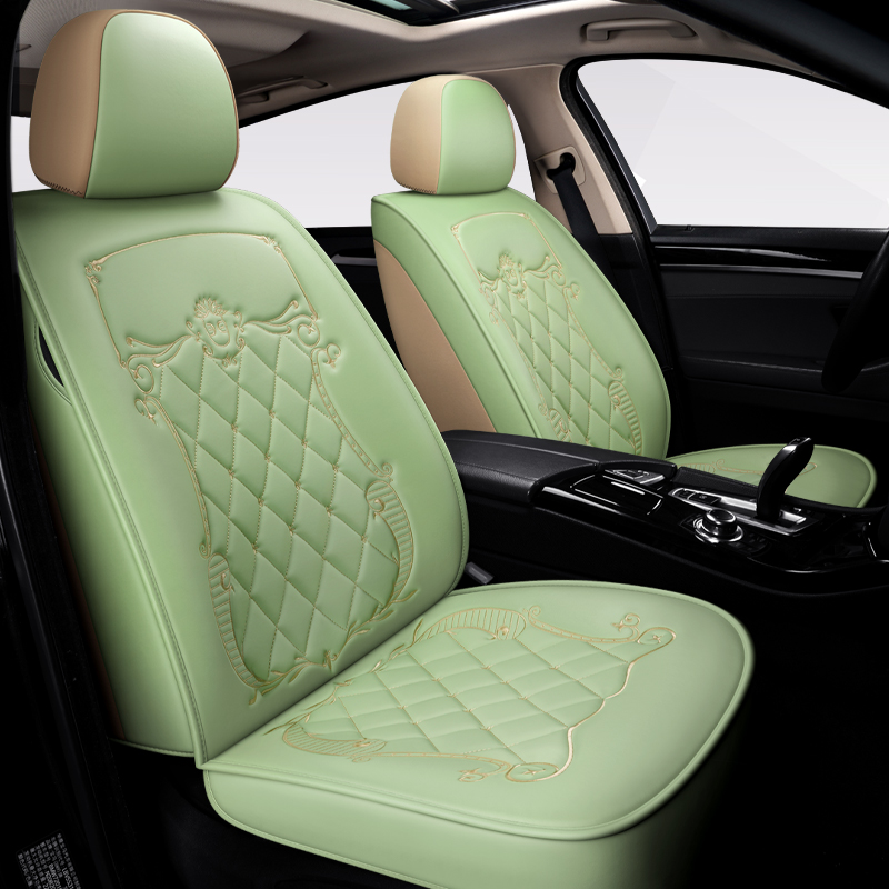 5-Seater Full Coverage Wear-Resistant And Scratch-Proof Skin-Friendly Leather Comfort Easy To Clean Up Airbag Compatible Universal Fit Seat Covers