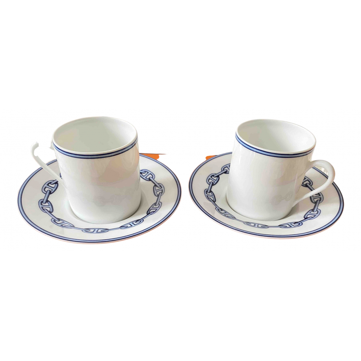 Juego de te/cafe Chaine dancre de Porcelana Hermes