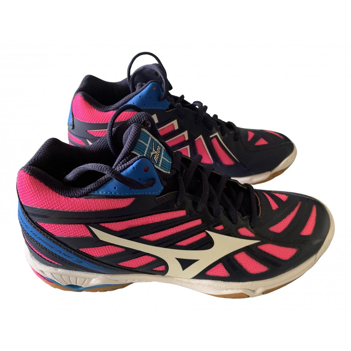 Mizuno \N Sneakers in  Blau Polyester