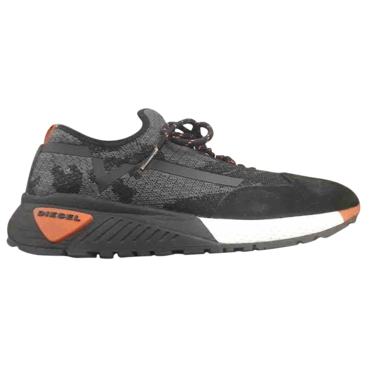 Diesel \N Sneakers in  Grau Polyester