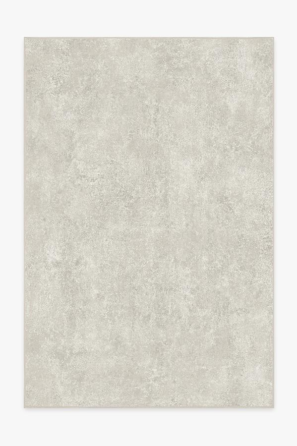 Washable Rug Cover | Serenata Ash Grey Rug | Stain-Resistant | Ruggable | 6x9