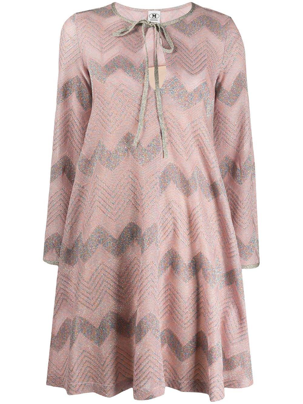 Lurex Short Dress