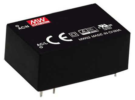 Mean Well , 1W Encapsulated Switch Mode Power Supply, 5V dc, Encapsulated