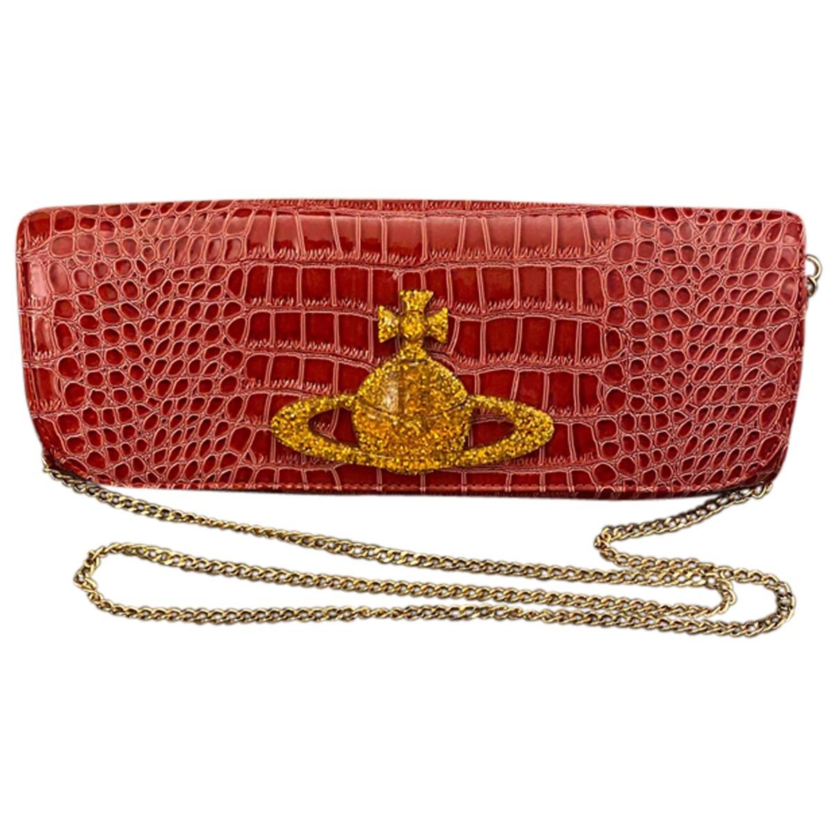 Vivienne Westwood \N Red Patent leather handbag for Women \N