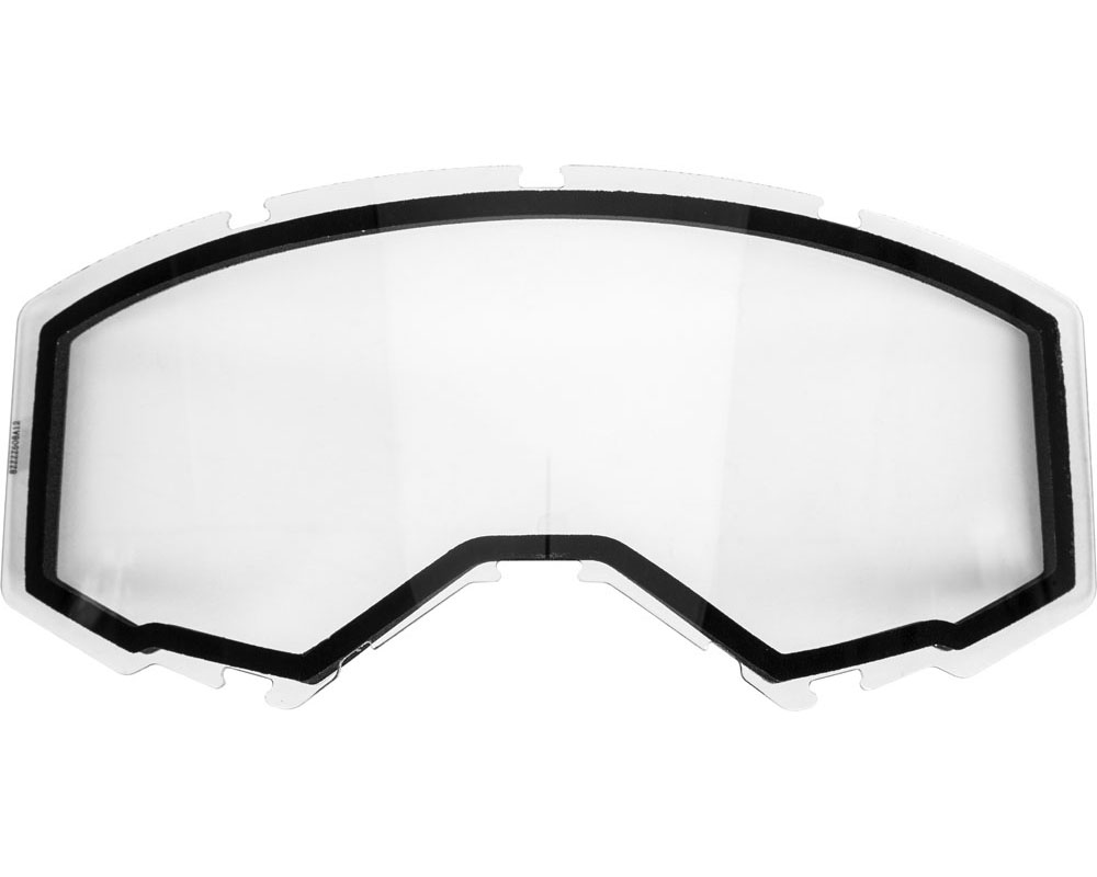 Fly Racing 37-5441 Dual Lens w/o Vents Adult