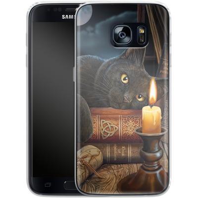 Samsung Galaxy S7 Silikon Handyhuelle - Witching Hour von Lisa Parker