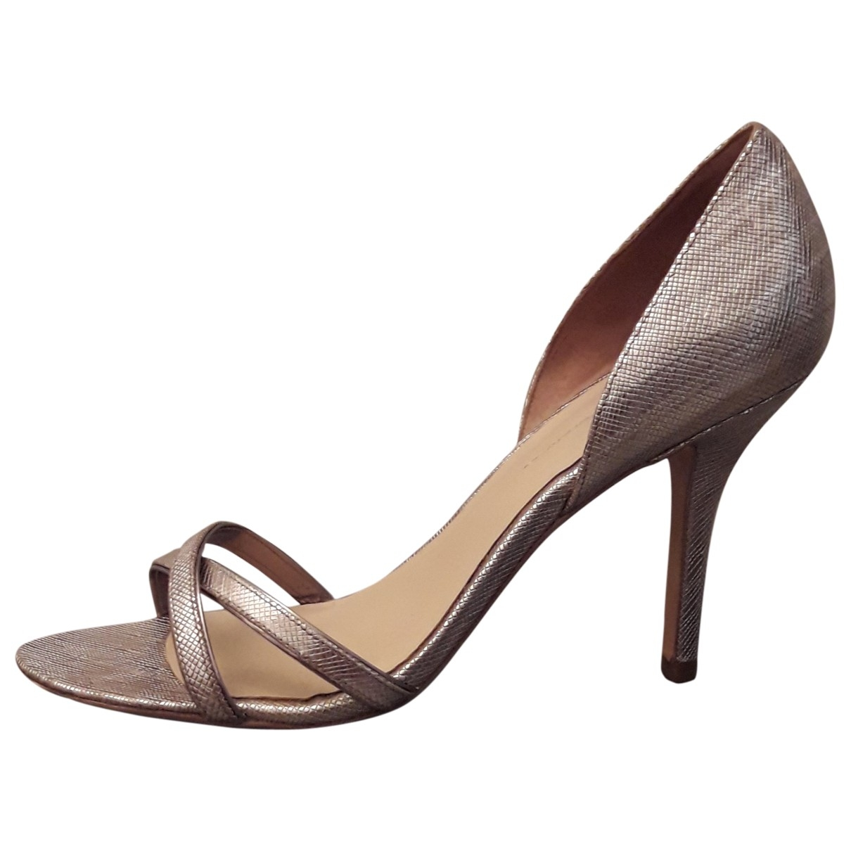 Aerin \N Gold Leather Sandals for Women 40 EU