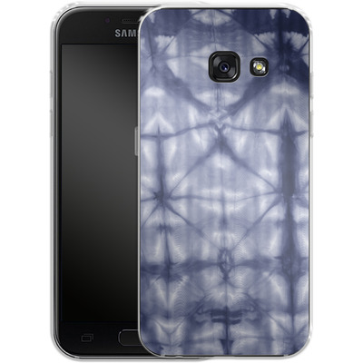 Samsung Galaxy A3 (2017) Silikon Handyhuelle - Tie Dye 2 Navy von Amy Sia