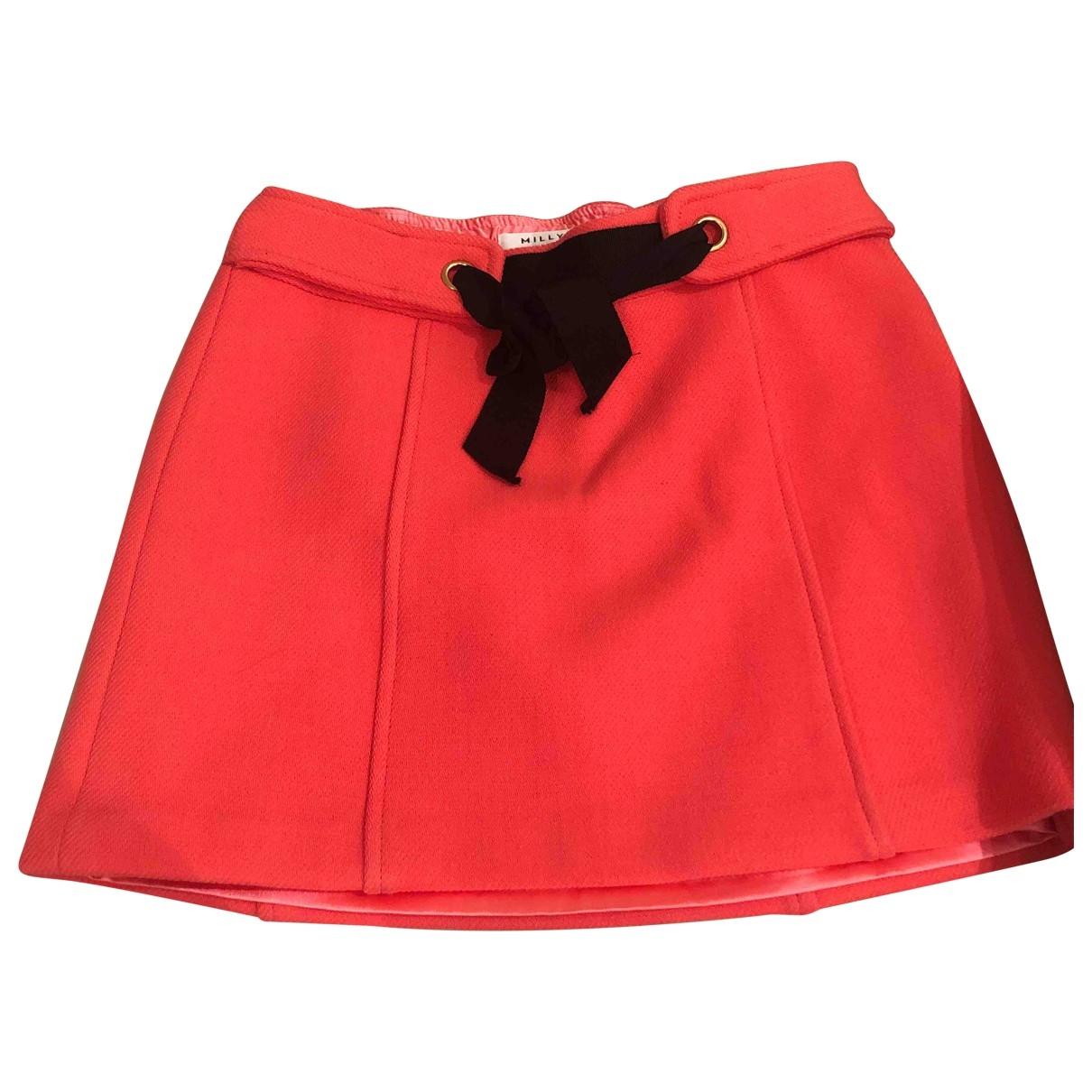 Milly \N Orange Wool skirt for Kids 14 years - S UK