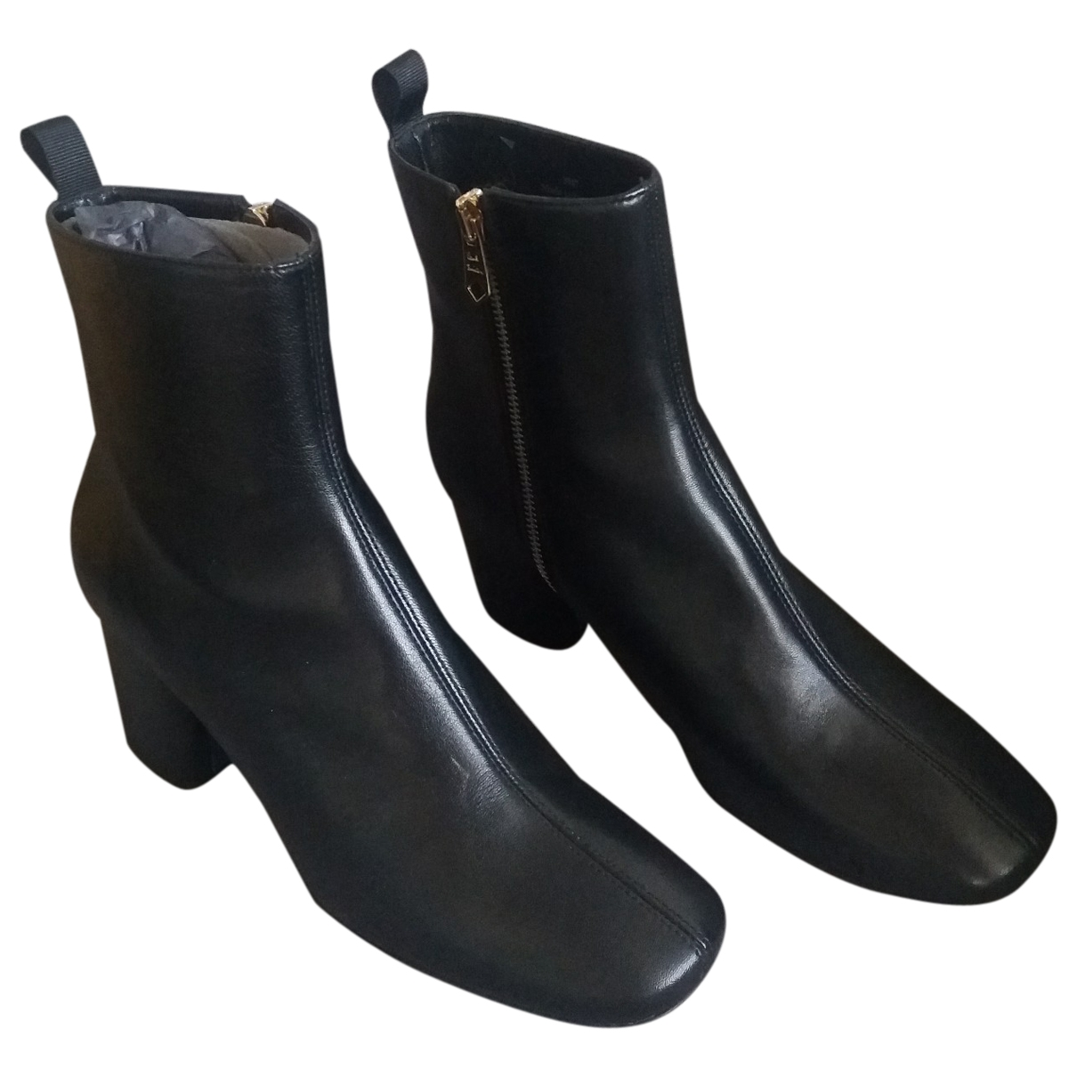 Paul Smith \N Stiefeletten in  Schwarz Leder