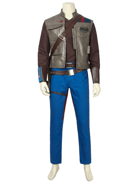 Milanoo Star Wars 9 The Rise Of Skywalker Finn Marvel Cosmics Film Cosplay Costume