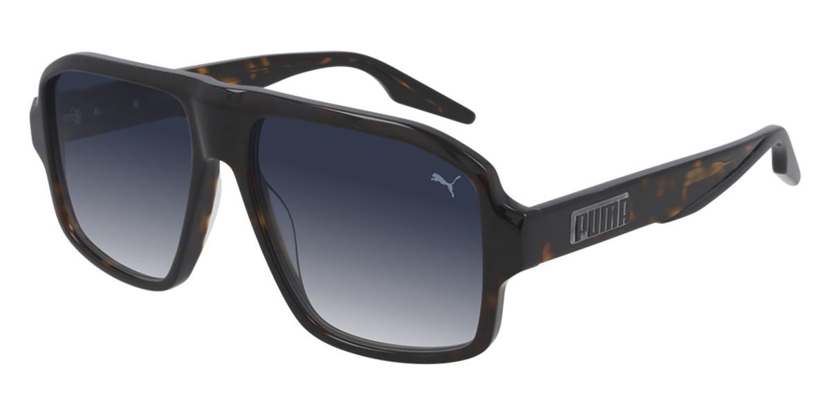 Puma PU0308S 002 Men's Sunglasses Tortoise Size 56 - Free RX Lenses