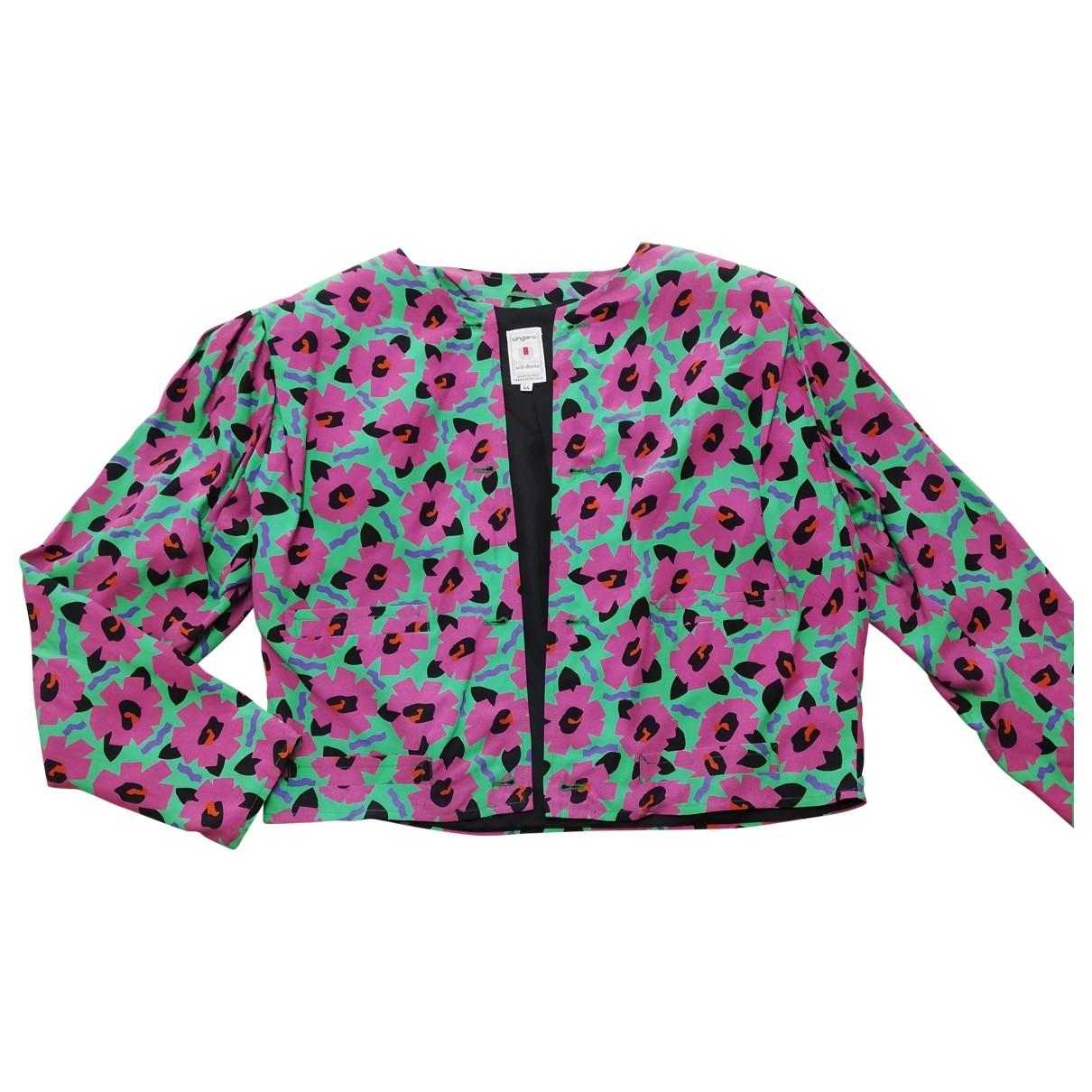 Emanuel Ungaro \N Multicolour jacket for Women 44 IT