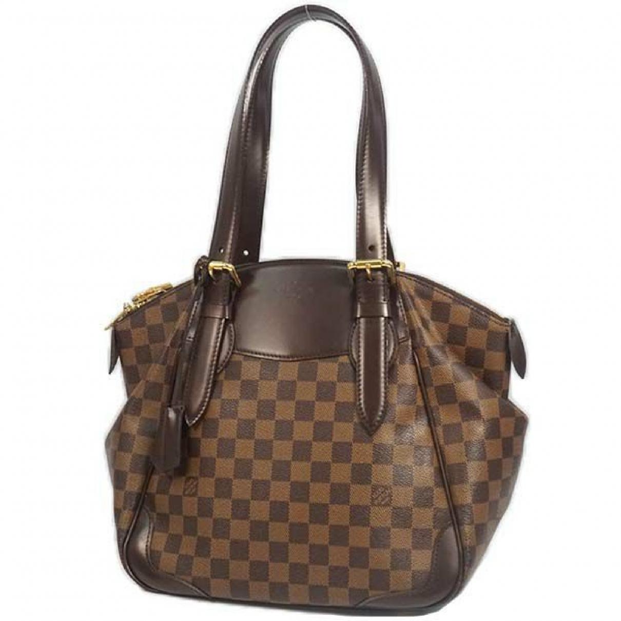 Louis Vuitton N White Cloth handbag for Women N