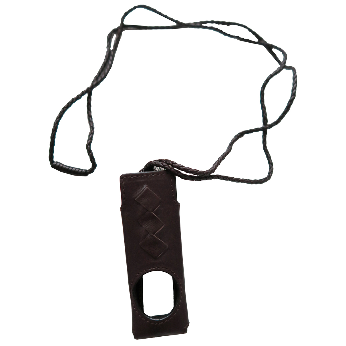 Bottega Veneta N Brown Leather Small bag, wallet & cases for Men N