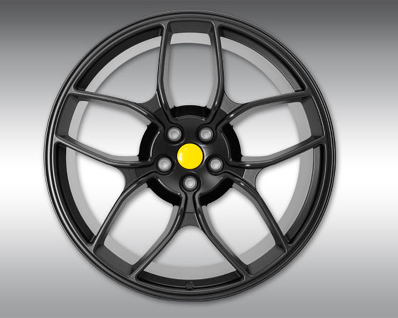 Novitec F4 488 56 NF4 21x12 Black Rear Forged Wheel Ferrari 488 GTB   488 Spider   488 Pista