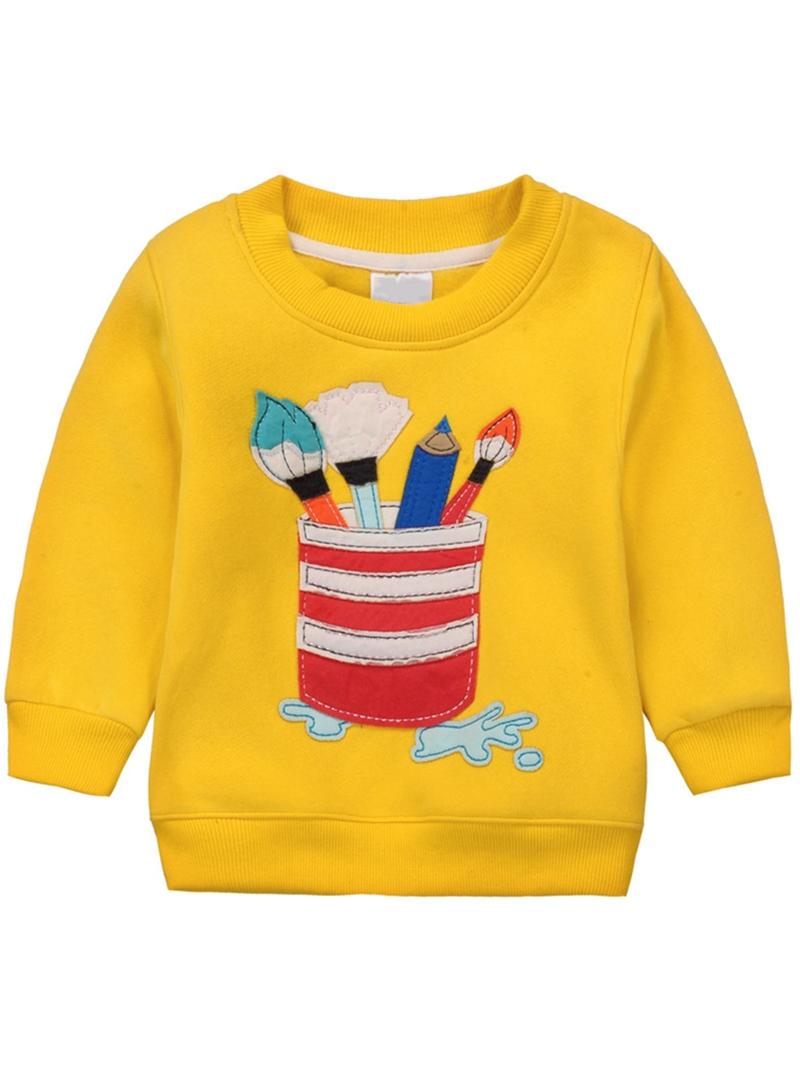 Ericdress Animal Printed Christmas Girls T-Shirts
