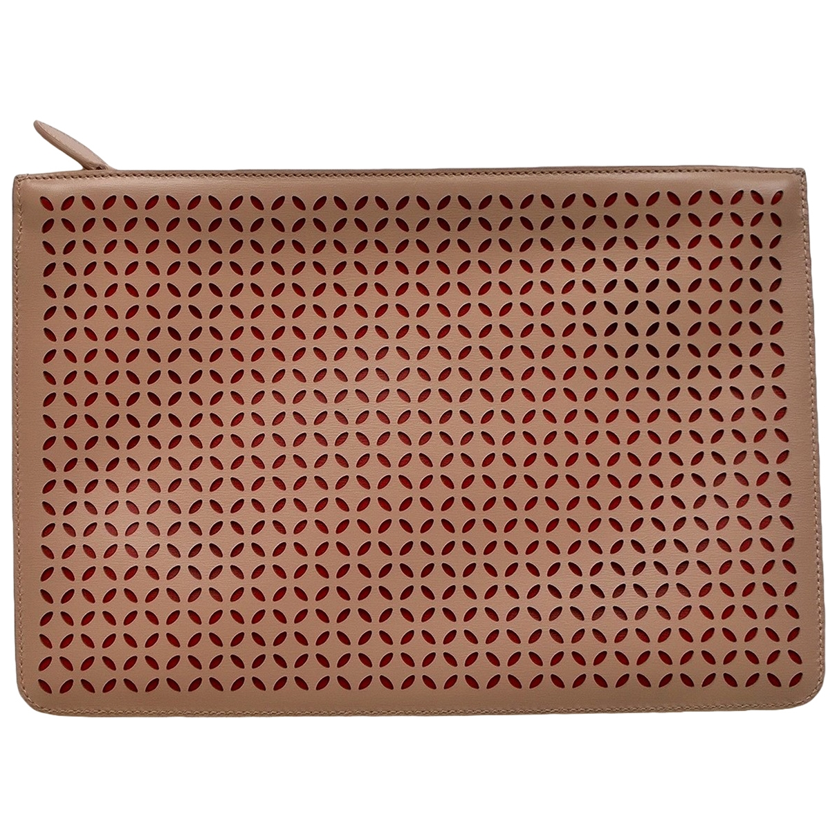 Alaïa \N Leather Clutch bag for Women \N