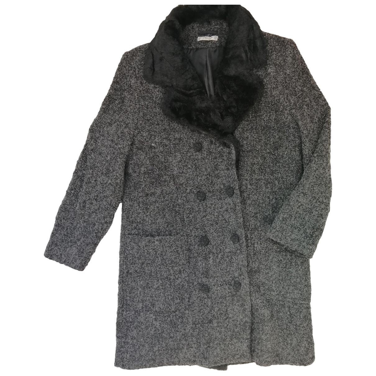 Celine \N Wool coat for Women 40 FR