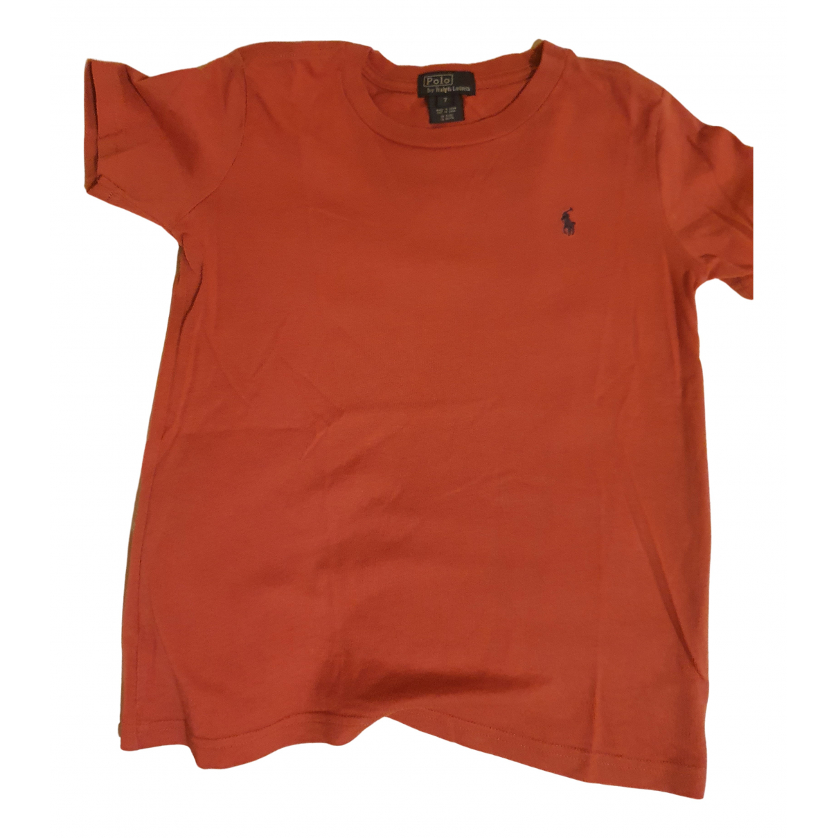Polo Ralph Lauren N Red Cotton  top for Kids 8 years - up to 128cm FR