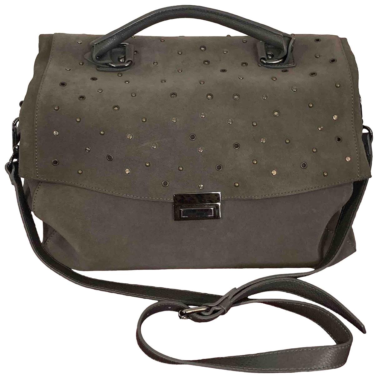 Fabiana Filippi \N Grey Leather handbag for Women \N