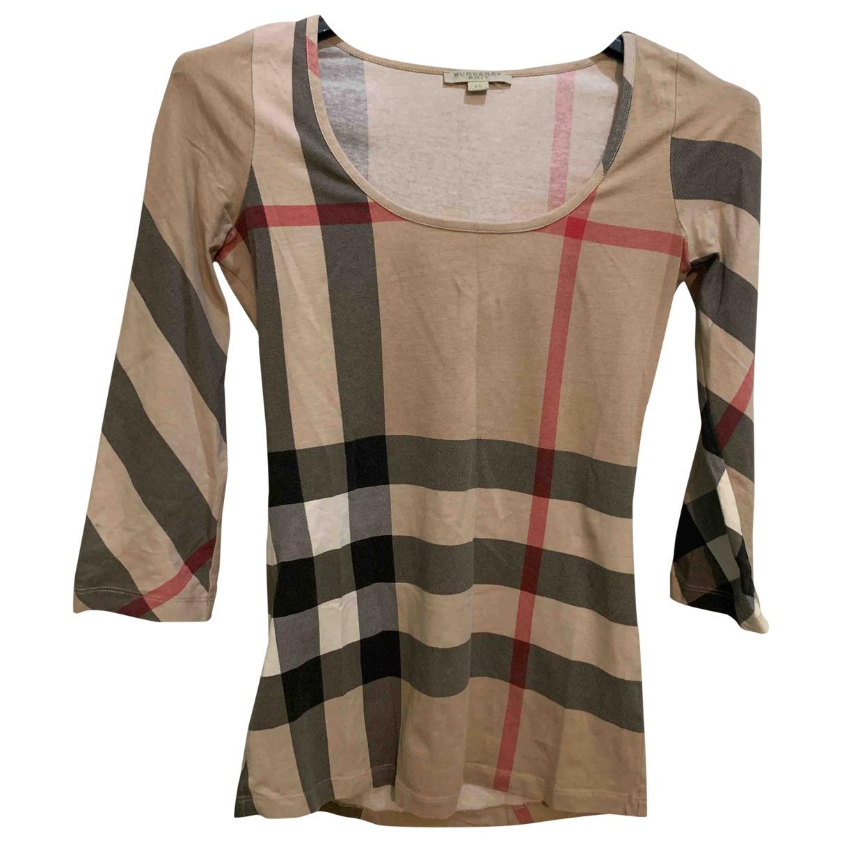 Burberry - Top   pour femme en coton