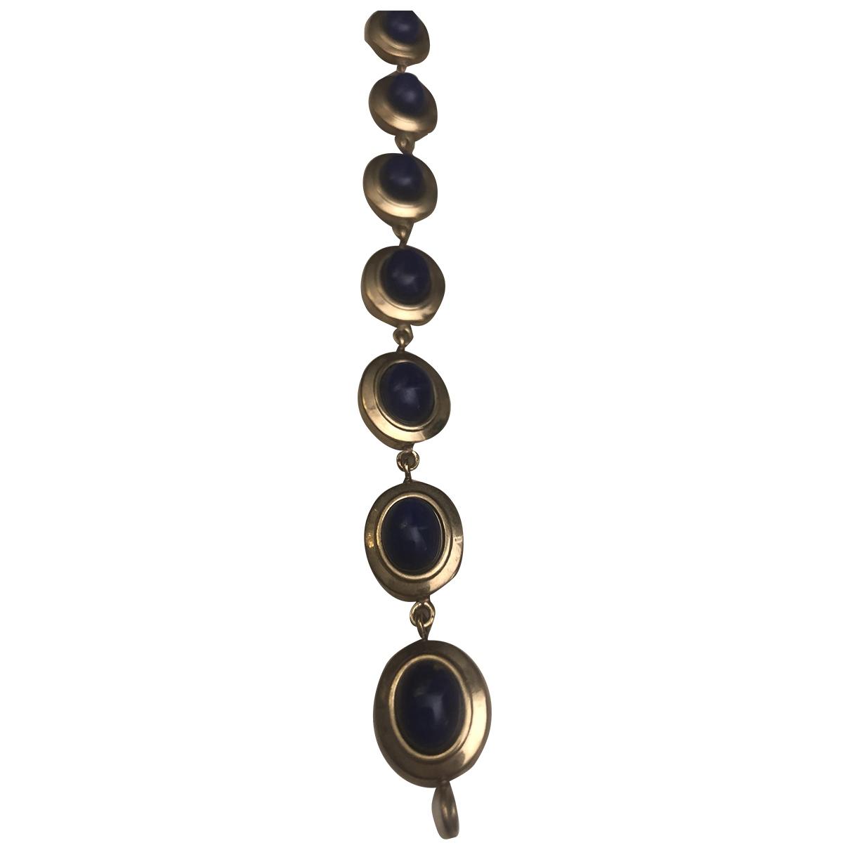- Bracelet   pour femme en or jaune - bleu
