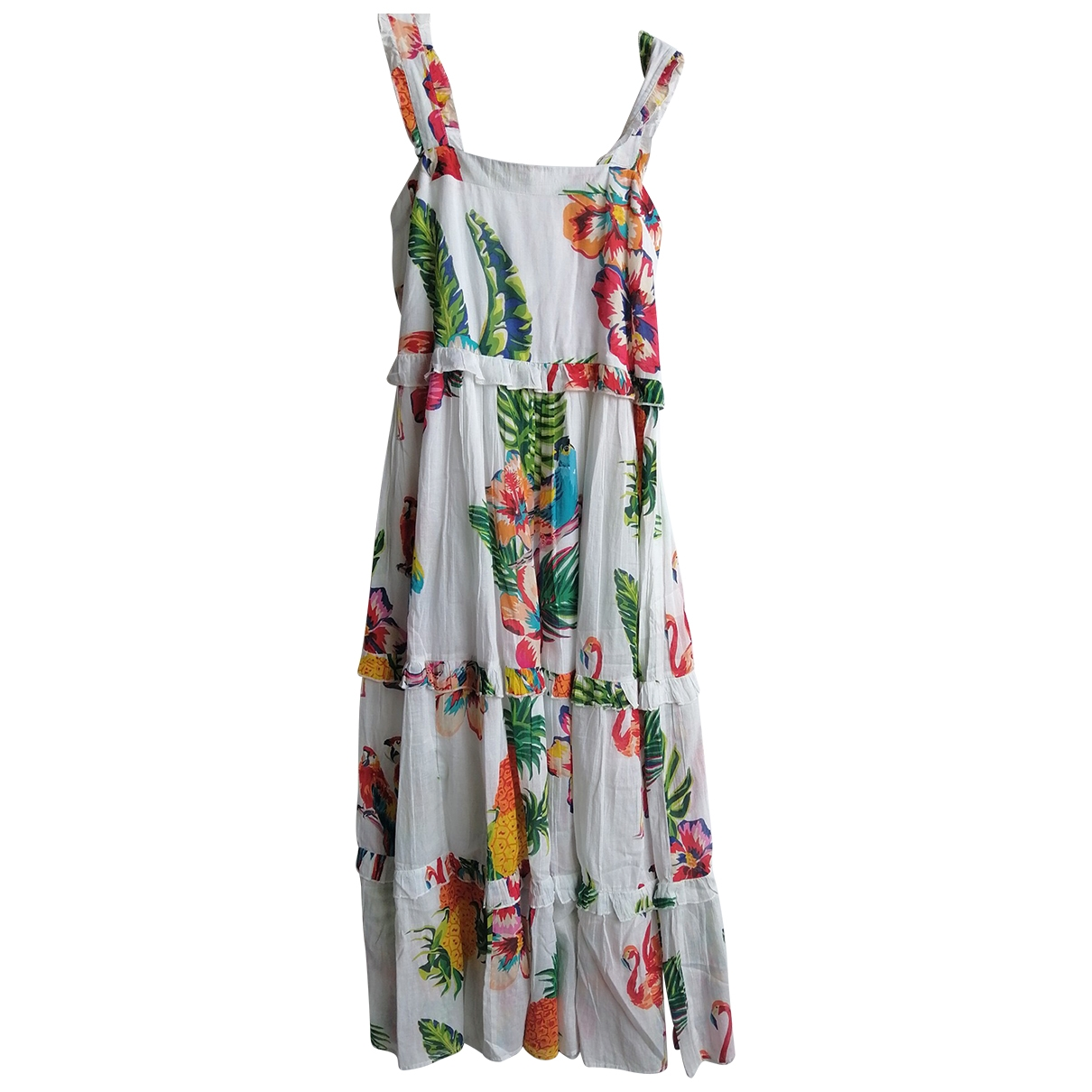 Non Signé / Unsigned \N Cotton dress for Women M International