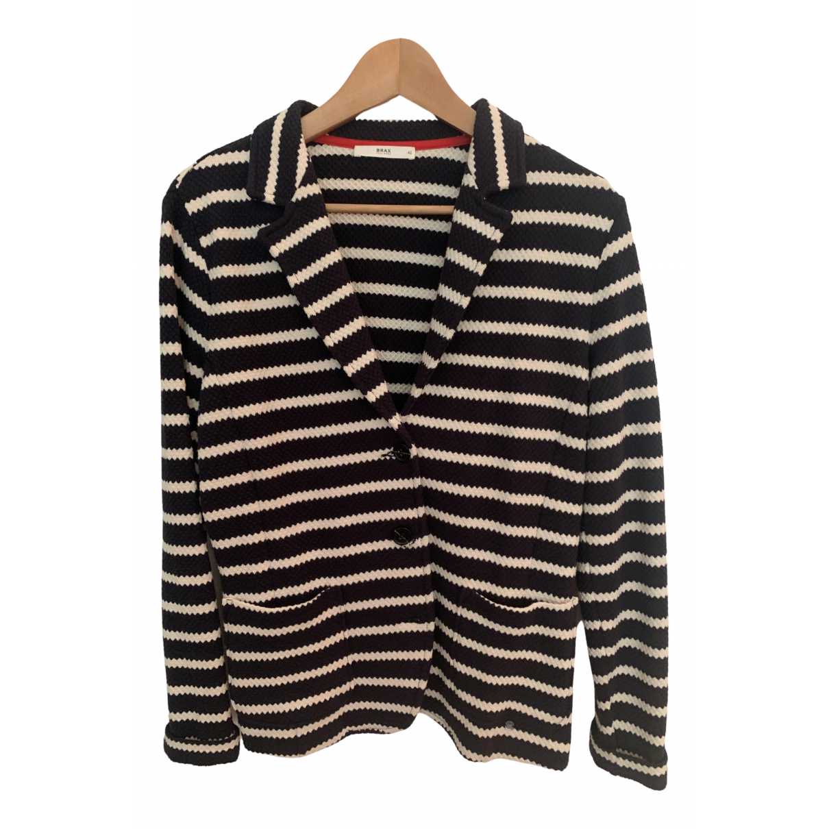 Non Signé / Unsigned \N Blue Cotton jacket for Women L International